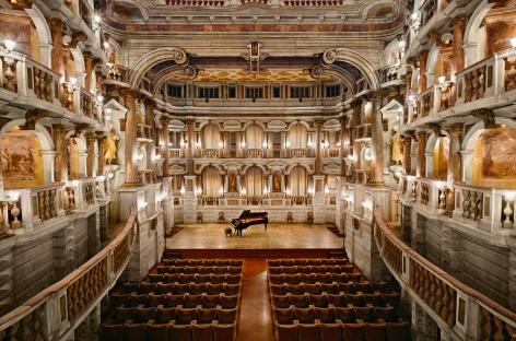 Bibiena Theater, Mantova, 2017, Chromogenic print