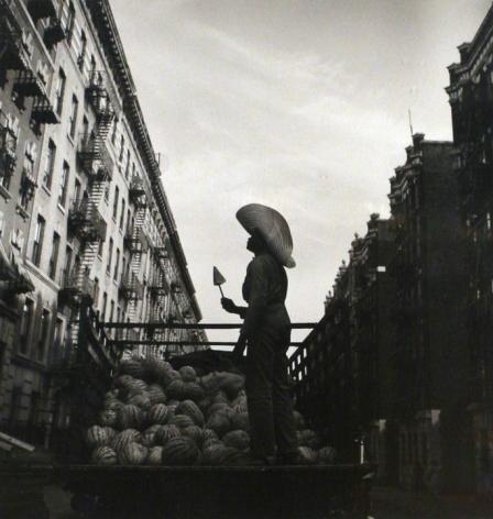 Aaron Siskind, Watermelon Man, Harlem Document, 1940