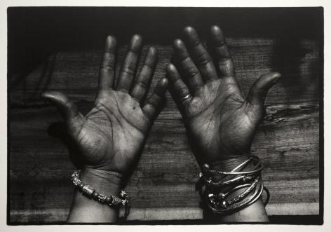 Adger Cowans -  Novella's Hands, 1970  | Frieze Masters 2020 : Adger Cowans & Friends | Bruce Silverstein Gallery