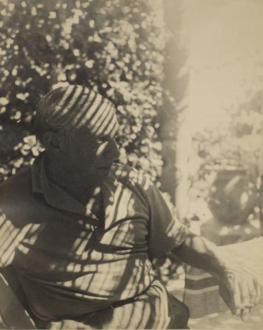 Dora Maar - Picasso, 1936    Paris Photo 2019   Bruce Silverstein Gallery