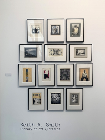 Frieze Masters 2019 : Keith A. Smith   installation image   Bruce Silverstein Gallery