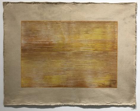Jack Whitten -  Sunstroke, 1971  | Frieze Masters 2020 : Adger Cowans & Friends | Bruce Silverstein Gallery