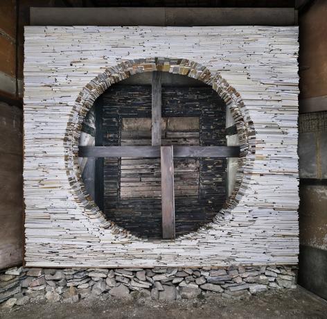 Marjan Teeuwen -  Destroyed House Kyoto 3, 2020  | Art Basel 2020 | Bruce Silverstein Gallery