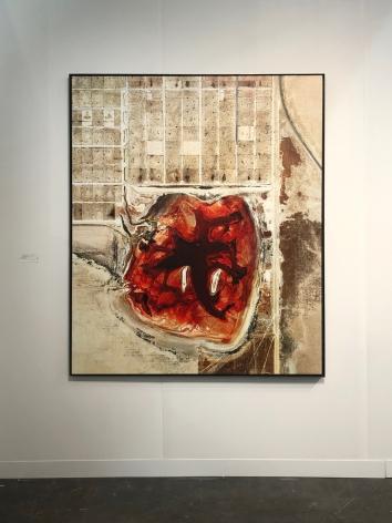 Mishka Henner -  Coronado Feeders, Dalhart, Texas, 2013  | The Armory 2020 | Bruce Silverstein Gallery