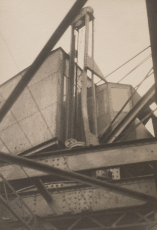Germaine Krull - Untitled (Abstract Industrial Building), 1925  | Art Basel 2020 | Bruce Silverstein Gallery