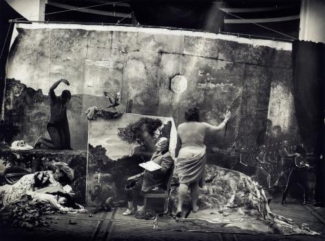 Joel-Peter Witkin -  Studio of the Painter, 1990   | Art Basel 2020 | Bruce Silverstein Gallery