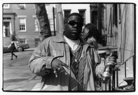 Adger Cowans ; Biggie Smalls, Brooklyn, New York, c. 1990s ; Bruce Silverstein Gallery