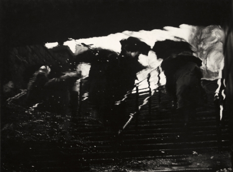 Subway Reflection, 1961