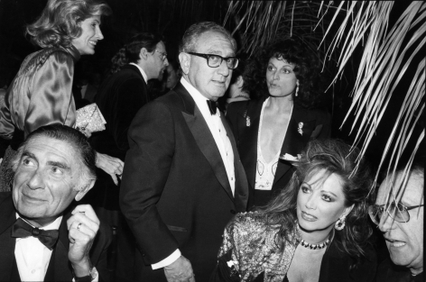 Bill Cunningham; Henry Kissinger, c. 1970s Gelatin silver print, printed c. 1970s 8 x 10 in. ; Bruce Silverstein Gallery