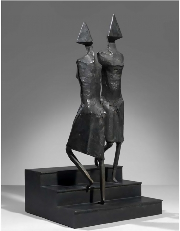 Lynn Chadwick -  First Stairs, 1991  | Art Basel 2020 | Bruce Silverstein Gallery