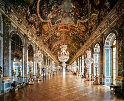 Ahmet Ertuğ - Versailles, Hall of Mirrors, 2009 Chromogenic print ; Bruce Silverstein Gallery