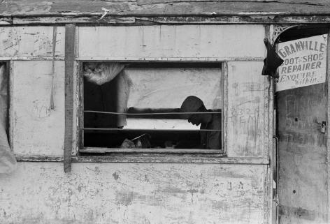 Jimmie Mannas - Granville Shoe Repair, Guyana, 1973 | Bruce Silverstein Gallery