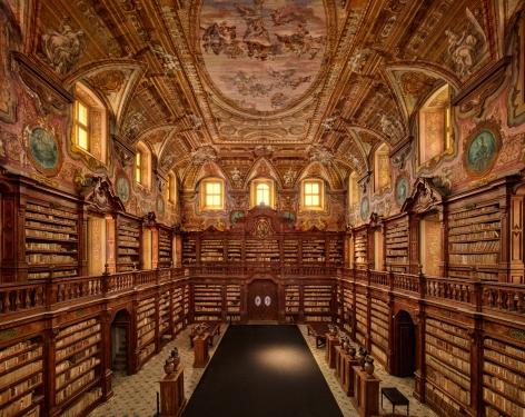 Girolamini Library, Naples, 2019, Chromogenic print