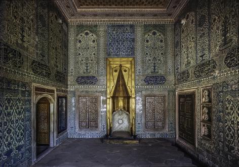Ahmet Ertug - Room of the Crown Princes, Topkapi Palace Harem, 1978   | Art Basel 2020 | Bruce Silverstein Gallery
