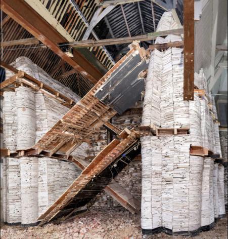 Destroyed House Leiden 5, 2016
