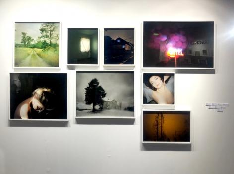 Paris Photo 2019 : Todd Hido | installation image | Bruce Silverstein Gallery