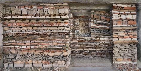 Marjan Teeuwen -  Destroyed House Arles 3, 2020  | Art Basel 2020 | Bruce Silverstein Gallery