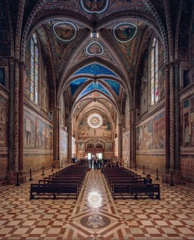 Ahmet Ertuğ - Basilica of St. Francis, Assisi, 2017 Chromogenic print ; Bruce Silverstein Gallery