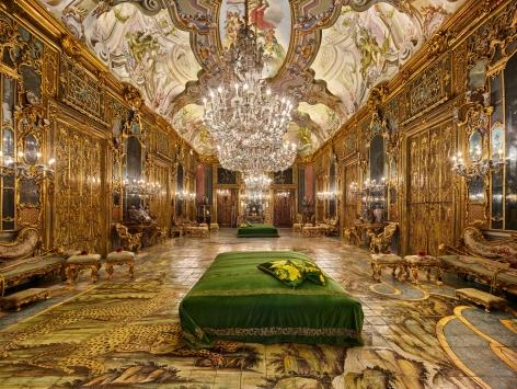 Ahmet Ertuğ - Palazzo Valguarnera Gangi, Palermo, 2019 Chromogenic print ; Bruce Silverstein Gallery