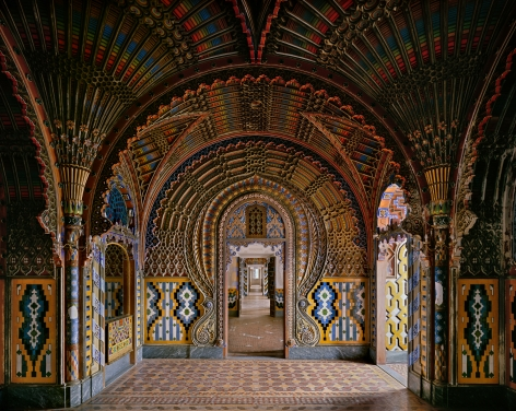 Ahmet Ertuğ - Castello di Sammezzano, Florence, 2014 Chromogenic print ; Bruce Silverstein Gallery