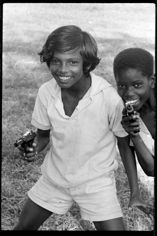 Jimmie Mannas - Gun Boys, Guyana, 1972 | Bruce Silverstein Gallery