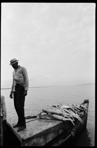 Jimmie Mannas - Rosignol Fisherman, 1971 | Bruce Silverstein Gallery