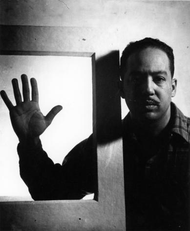 Gordon Parks -  Langston Hughes, Chicago, 1941  | Frieze Masters 2020 : Adger Cowans & Friends | Bruce Silverstein Gallery