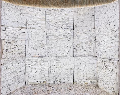 Marjan Teeuwen -  Destroyed House Arles 1, 2020  | Art Basel 2020 | Bruce Silverstein Gallery