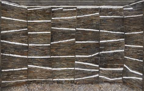 Marjan Teeuwen -  Destroyed House Arles 2, 2020  | Art Basel 2020 | Bruce Silverstein Gallery