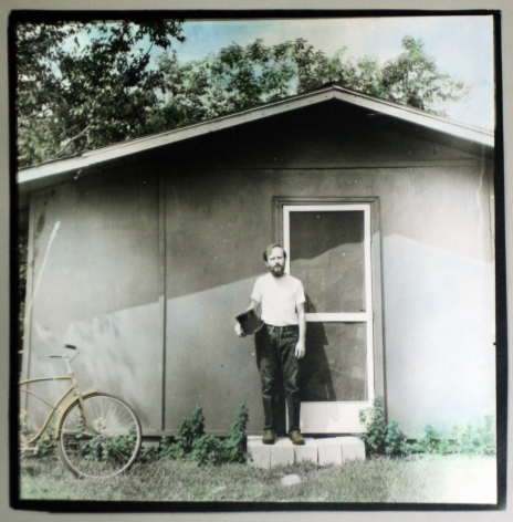 Keith A. Smith -  Me at My Shed, 1973    Frieze Masters 2019   Bruce Silverstein Gallery