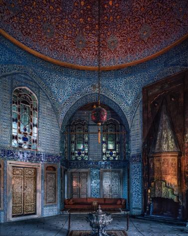 Ahmet Ertuğ - Baghdad Pavilion, Topkapi Palace,1978 Chromogenic print ; Bruce Silverstein Gallery
