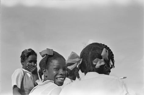 Jimmie Mannas - Shy Girls, Guyana, 1972 | Bruce Silverstein Gallery