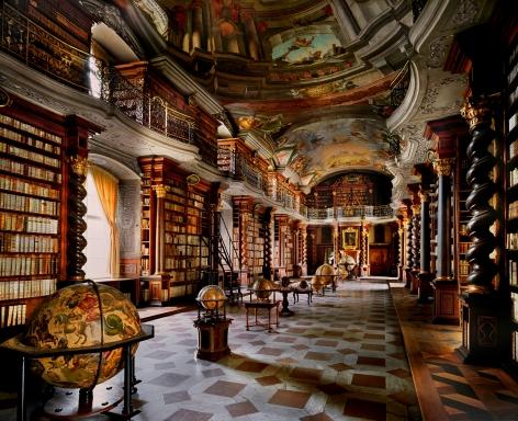 National Library, Prague, 2008, Chromogenic print