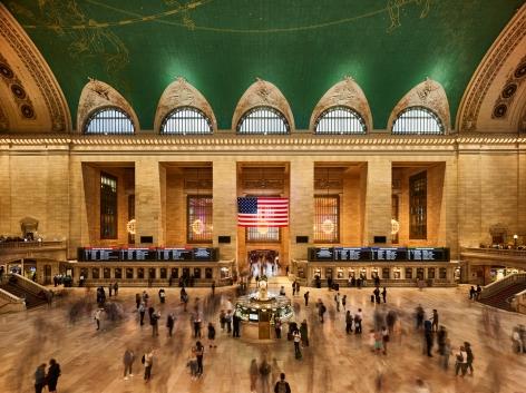 Ahmet Ertuğ - Grand Central Terminal, New York, 2020 Chromogenic print ; Bruce Silverstein Gallery