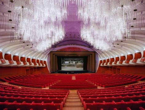Ahmet Ertuğ - Teatro Regio, Turin, Italy, 2016 Chromogenic print ; Bruce Silverstein Gallery