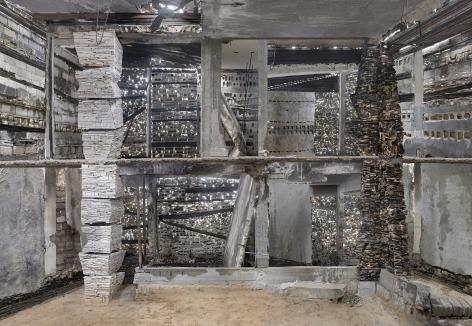 Marjan Teeuwen - Destroyed House Gaza 1, 2017    Paris Photo 2019   Bruce Silverstein Gallery