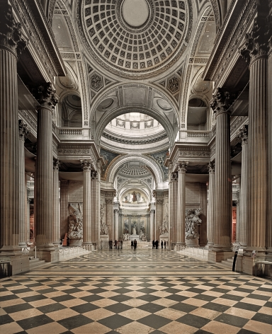 Ahmet Ertuğ - Pantheon, Paris, 2011 Chromogenic print ; Bruce Silverstein Gallery