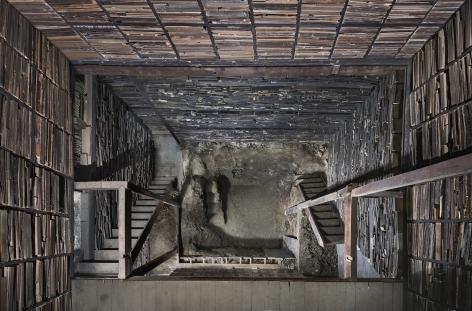 Marjan Teeuwen -  Destroyed House Kyoto 1, 2020  | Art Basel 2020 | Bruce Silverstein Gallery