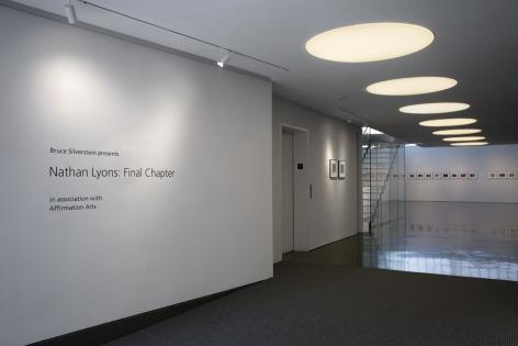 Nathan Lyons | Final Chapter