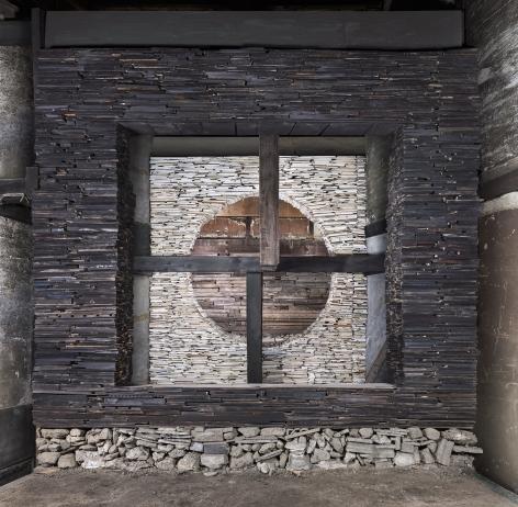 Marjan Teeuwen -  Destroyed House Kyoto 4, 2020  | Art Basel 2020 | Bruce Silverstein Gallery