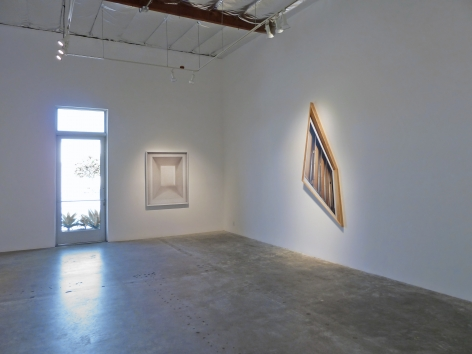 Installation View of Chris Engman: Ink on Paper