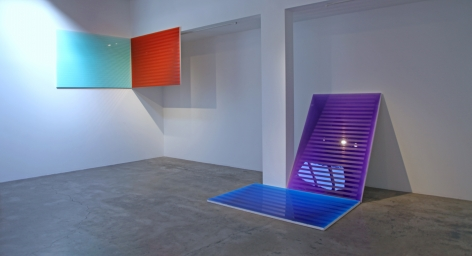 Installation View of Kevin Fey: Double Resolve