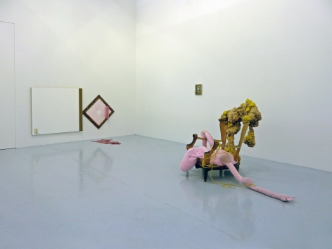 Installation View of we're not here to waste time