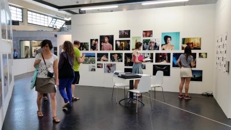 Installation View of Luis De Jesus Los Angeles at VOLTA 10 in Basel, Switzerland