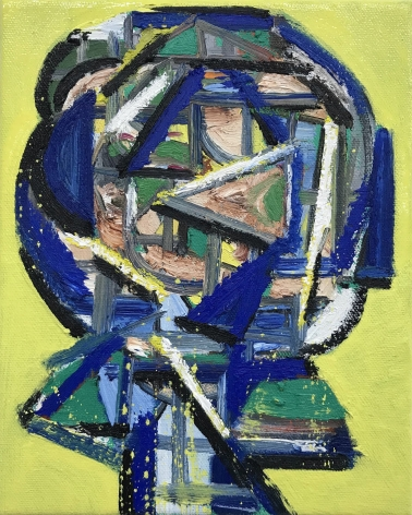 Erik Olson James Kirkpatrick (double sided portrait, Kajda on reverse), 2020