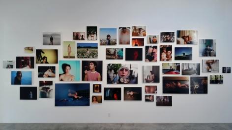 Installation View of Zackary Drucker & Rhys Ernst: Post/ Relationship/ X
