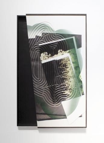 Kate Bonner The framing in it, 2016 Digital prints on MDF, 55 x 40 x 4 in