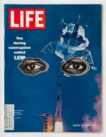 Dennis Koch, LIFE Cutout No.012 (March 14, 1969, LEM Ali Eyes)