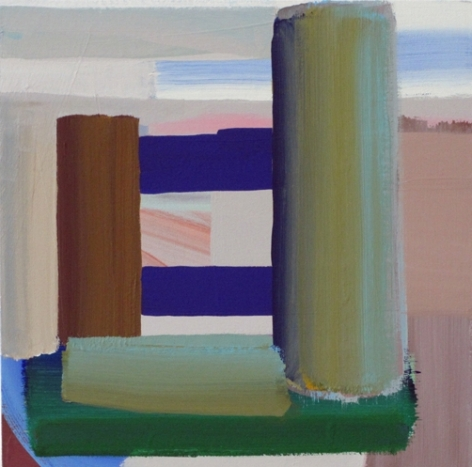 Michael Kindred Knight Narrows, 2012 Acrylic on Canvas 15 x 15 in.