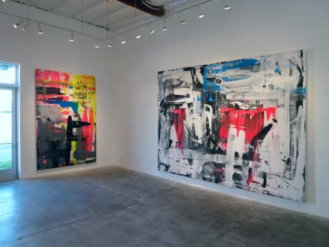 Installation View of Martin Durazo: Points of Entry